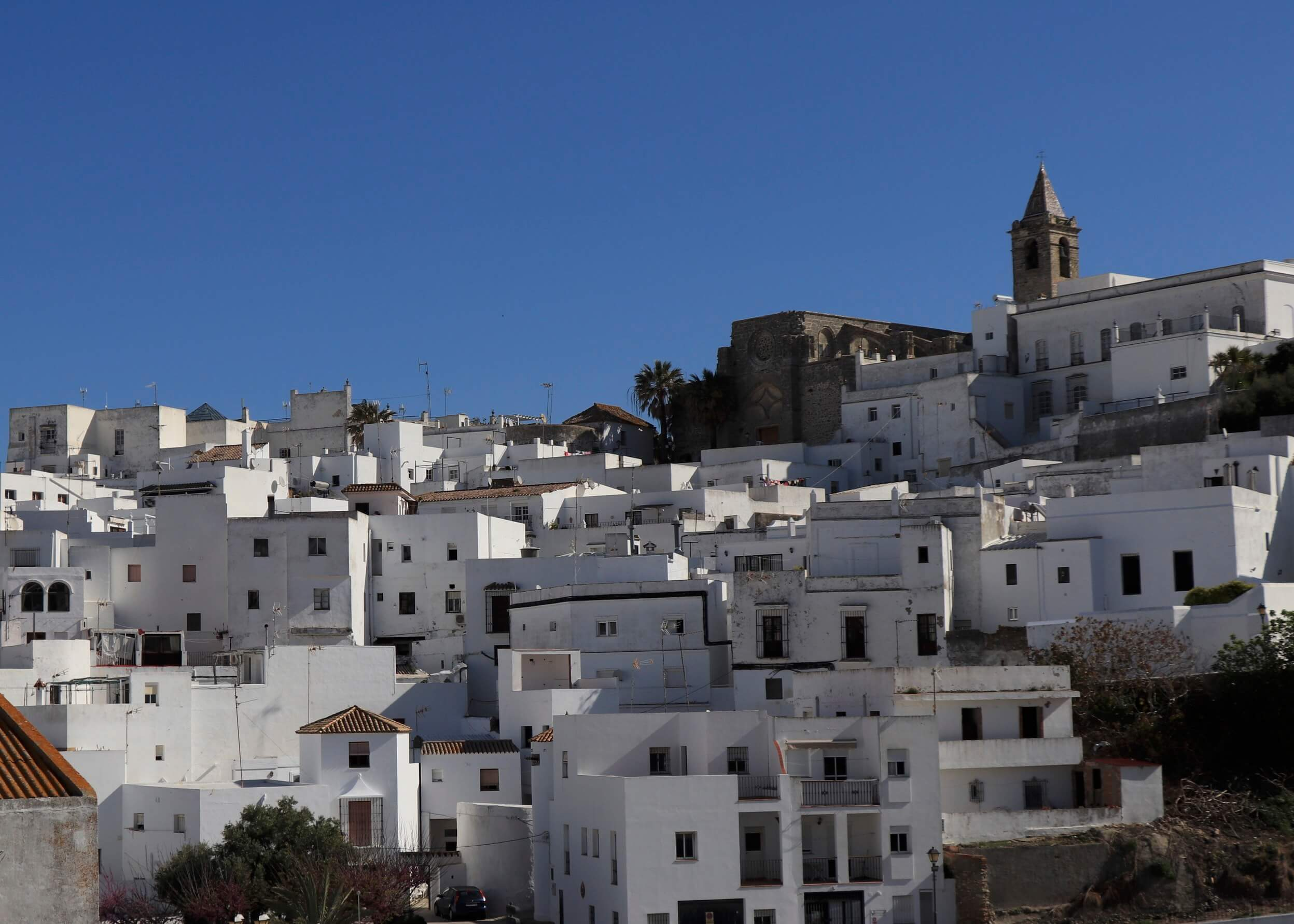 Views of Vejer from Dos Miralles